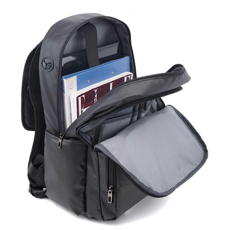 TIANHOO Neue Benutzerdefinierte männer Computer Rucksack Koreanische Freizeit Reise Große Kapazität Schule Tasche