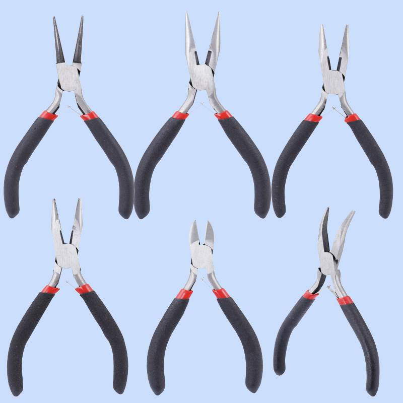 Jewelry Making  Jewelry Pliers Tool Pliers Vise Diagonal Mouth Pliers Round Head Pliers Cutting Wire Cut Copper Wire