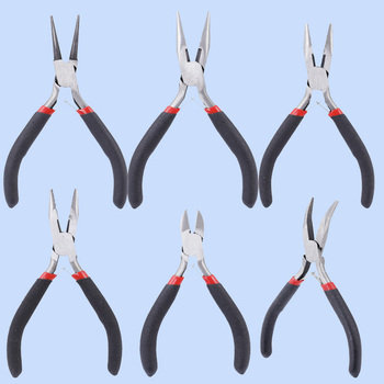 Jewelry making  jewelry pliers tool pliers vise diagonal mouth pliers round head pliers cutting wire cut copper wire hold steel wire pliers german quality japanese industrial grade pliers cutting pliers pliers
