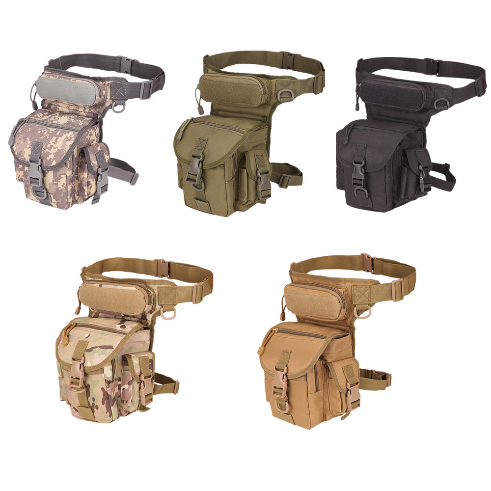 800D Waterproof Tactical Waist Bag Pouch Pocket Oxford Military Tactical Backpack Leg Bag Tool Camping Multi-function Bag