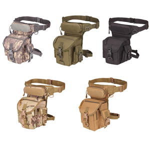 800D Waterproof Tactical Waist Bag Pouch Pocket Oxford Military Tactical Backpack Leg Bag Tool Camping Multi-function Bag(China)