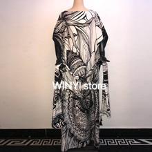 WINYI 2021 dress Summer New Fashion Womens Plus Size Casual Short Sleeve Boho Retro Linen Print Long Maxi Dress Wholesale платье