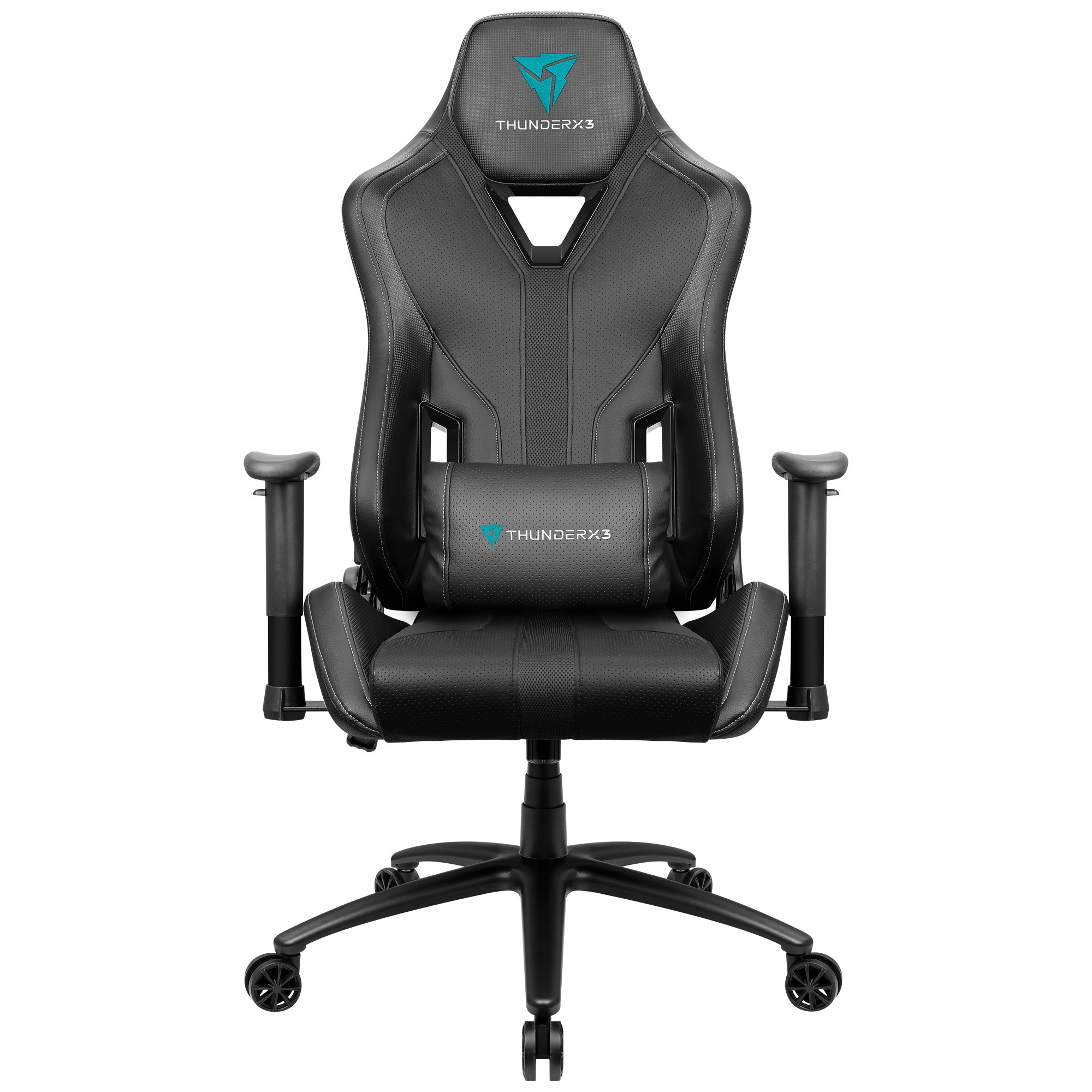 ThunderX3 YC3, Gaming Chair, Technology AIR, Breathable And Adjustable, Black