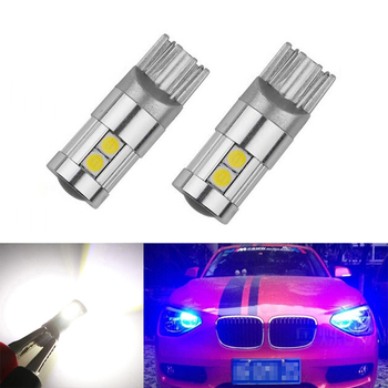 2x T10 LED W5W Samsung Car Clearance Light Bulbs For BMW E46 E39 E91 E92 E93 E28 E61 F11 E63 E64 E84 E83 F25 E70 E53 E71 E60 image