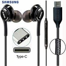 SAMSUNG AKG auriculares intrauditivos EO IG955 con cable tipo c y micrófono, para GALAXY NOTE 10 /20 S20 S10 PLUS