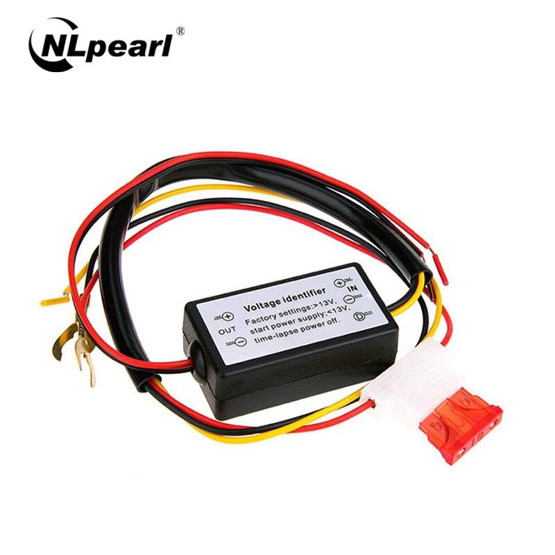 Nlpearl 1x Автомобильный светодиодный DRL контроллер дневных ходовых огней реле жгута диммер ВКЛ/ВЫКЛ 12 в контроллер DRL автомобильный фонарь в сб...