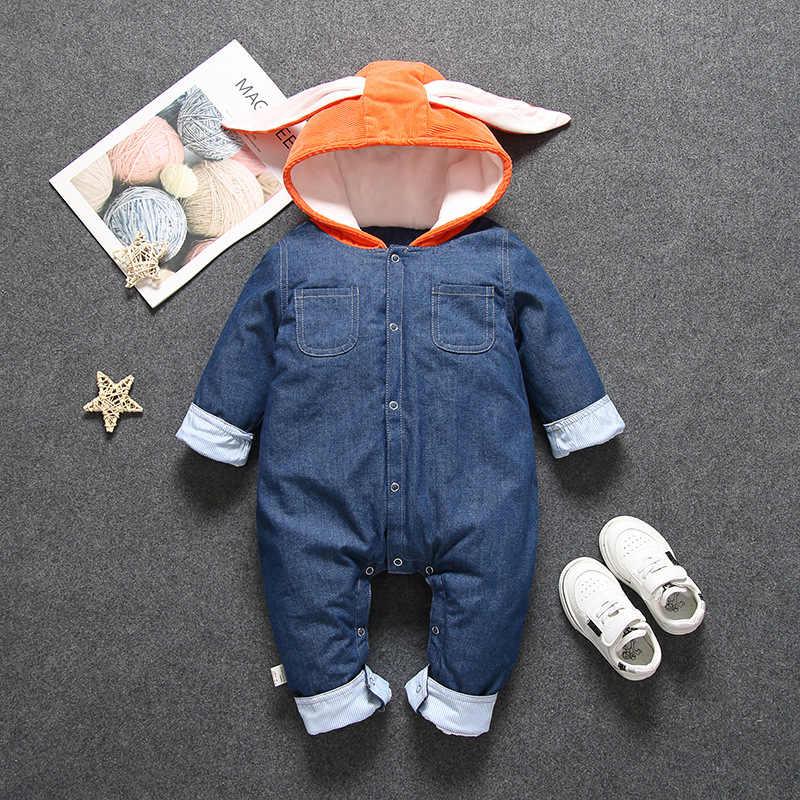 סתיו חורף תינוק בגדי יילוד Rompers עבור תינוק ילדה ילד סרבל 2020 כותנה ילדי סרבל ילדים תלבושות תינוקות בגדים