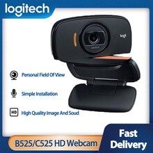 Laptop Webcam Web-Camera C505E Portable Hd 1080p Video Desktop Rotating-8mega Auto-Focus