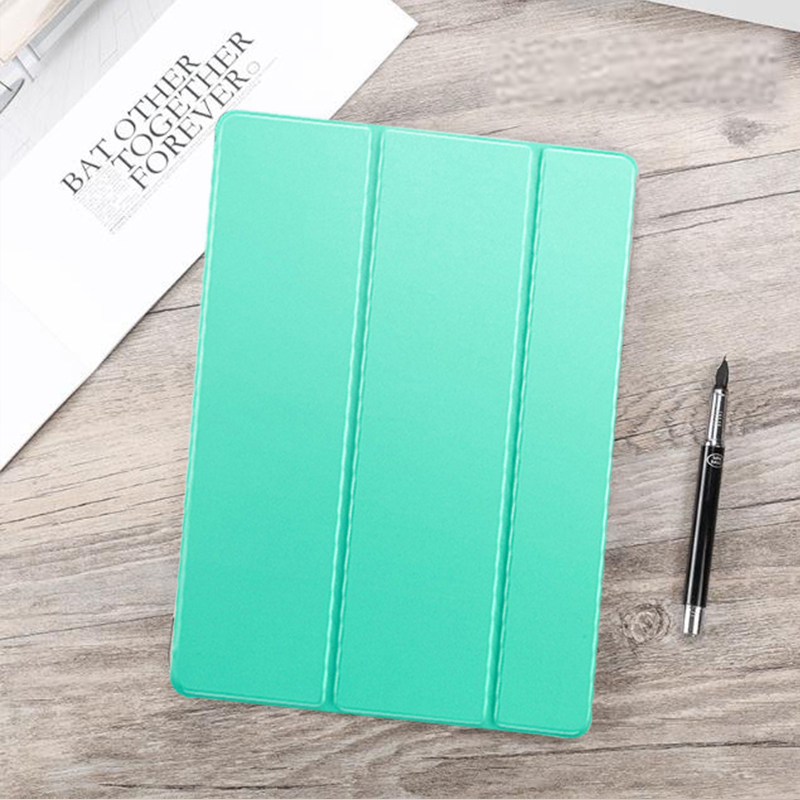 Mint Green Green Funda For iPad Air 4 2020 10 9 PU Leather Trifold Stand Case For iPad Air4