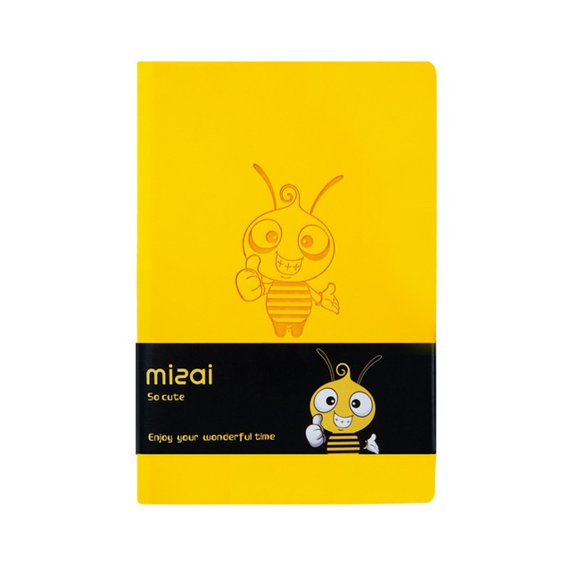 2020 Agenda Planner Organizer Kawaii Bee Notebook and Journal Cute A7 Diary Note Book Weekly Monthly Plan School Travel Handbook 4