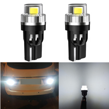 2x T10 LED Canbus Bulbs For BMW E90 E60 E39 F10 E36 F30 F20 White 168 501 W5W LED Lamp T10 Wedge Car Interior Lights 12V 6000K image