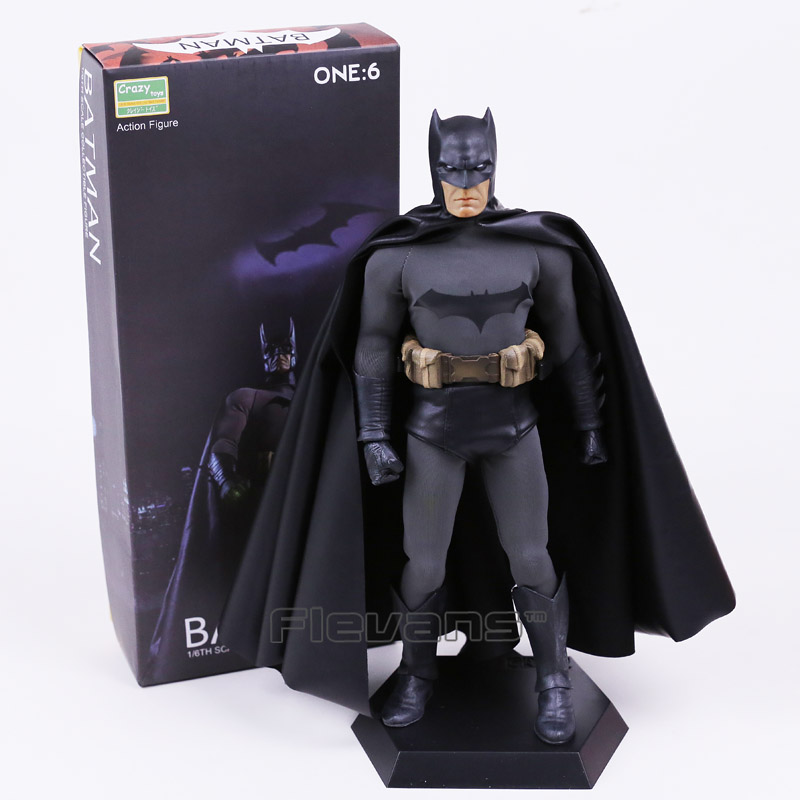 Crazy Toys Batman 1/6 Th Scale Collectible Action Figure Real Clothes 12