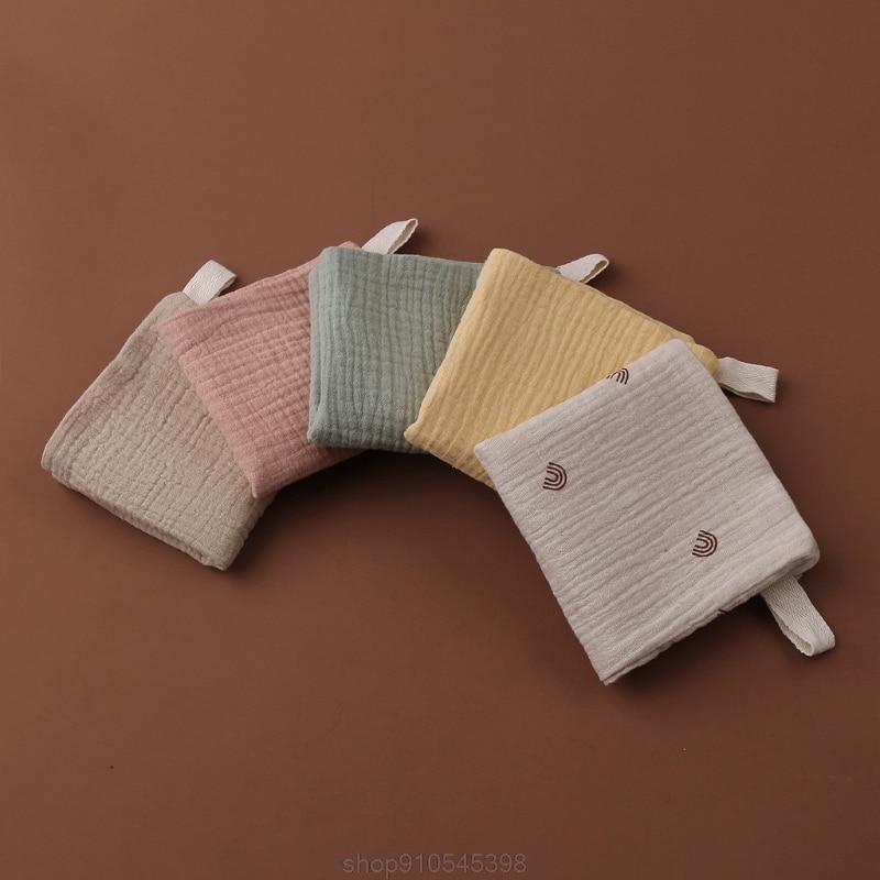 5pcs Baby Feeding Towel Soft Gauze Bath Towel Newborn Saliva Towel Burp Cloth D09 20 Dropshipping 6