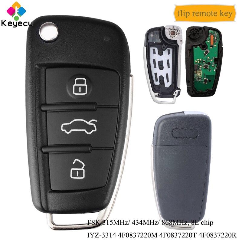 Пульт дистанционного управления для Audi A6 A6L S6 Q7 315 434-868