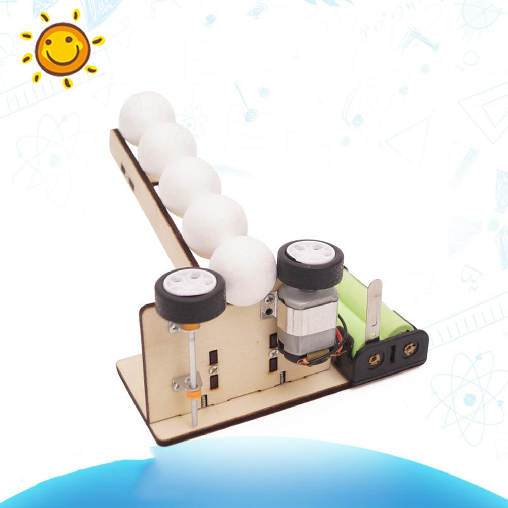 DIY Mechanical Transformation Scientific Experiment Children Educational Toy