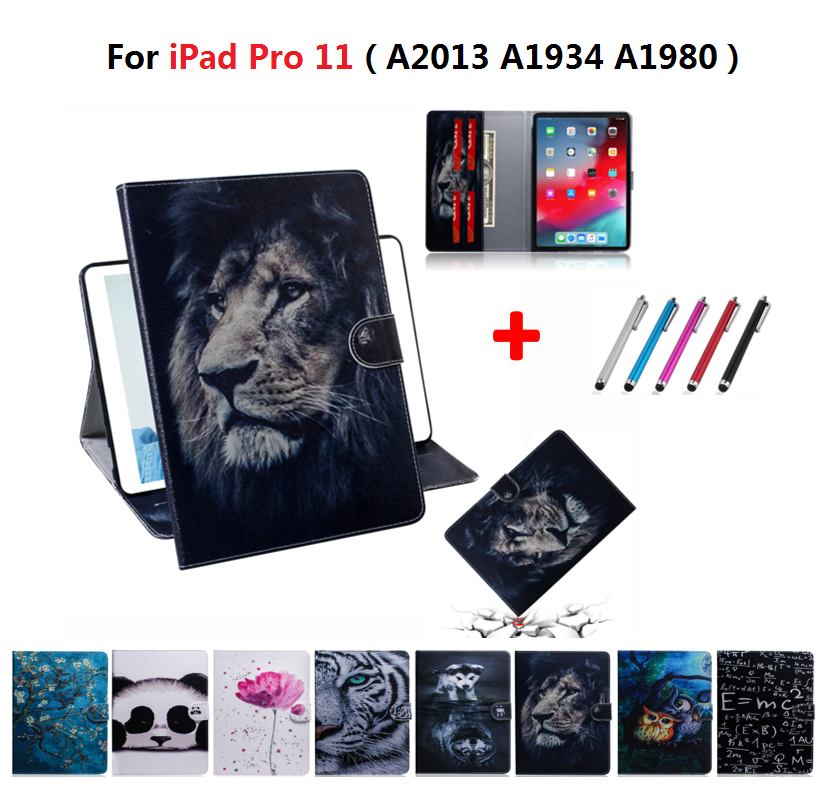 Крутой Лев чехол с картинкой из сериала Teen Wolf для Apple iPad Pro 11 чехол 2018 A2013 A1934 A80 сова защитный чехол для iPad Pro 11 дюймов задний Чехол Caqa