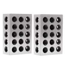 Blocks Milling-Tool Steel Ultra-Engineers Precision 2pcs for 1--X-2--X-3-Hardened