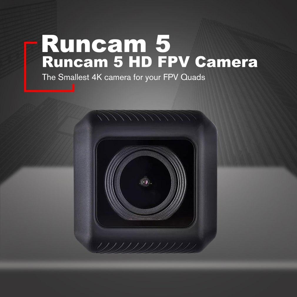 RunCam 5 12MP plus petit enregistrement 4K Cam HD 145 degrés NTSC/PAL 16:9/4:3 caméra d'action commutable FPV Mini caméra pour Drone RC Accs