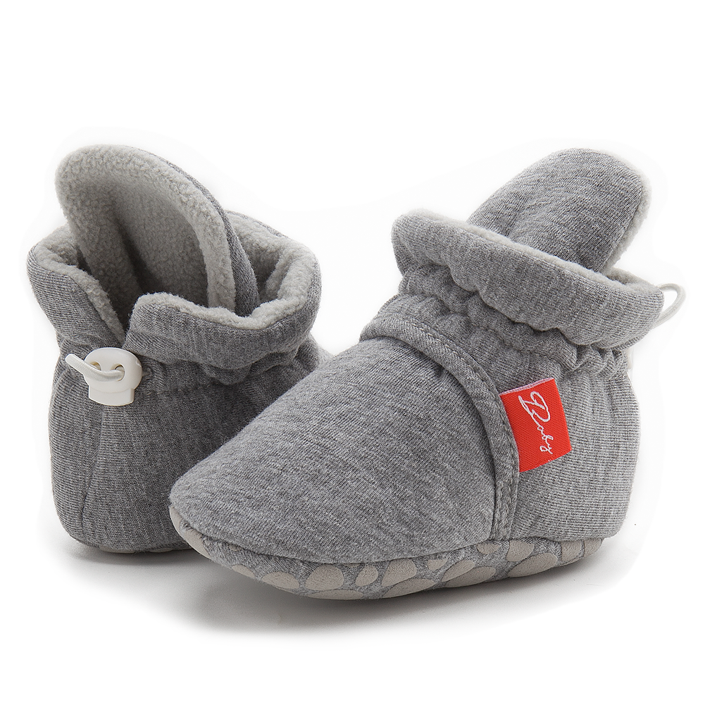 Newborn Shoes Warm Socks Toddler Boots Winter First Walker Baby Girls Boys Soft Sole Snow Booties Unisex Crib Shoes zapatos bebe 2