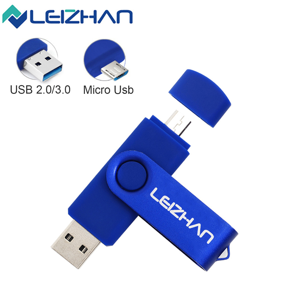 USB 3.0 Flash Drive OTG Micro Usb Pen Drive Type C Pendrive 256 128 64 32 16 GB USB 2.0 Memory Photo Stick For Computer/Phone