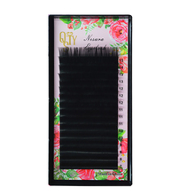 All Size B/C/D curl mix 7-15mm eyelashes extension high quality Soft mink lashes natural False eyelash individual c d l curl individual lashes high quality 9 15mm 100