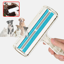 Double -Way Pets Hair Removing Products Remover Roller Sticking For Clear Dog Cat Accessories Grooming Brush From Carpets