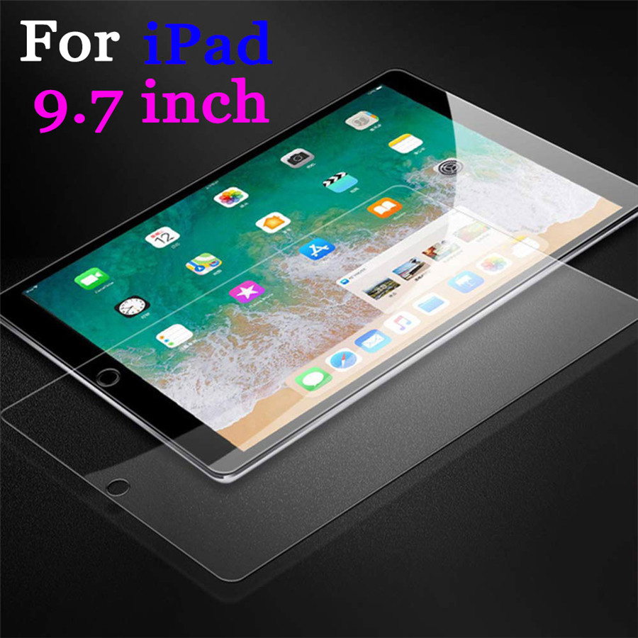 Ipad6gen Screen Protector For Apple Ipad 9.7 Inch Protective Glass 2018 2017 5 6 Generation Pro 5gen Air 1 2 5th 6th Pro9.7 Film