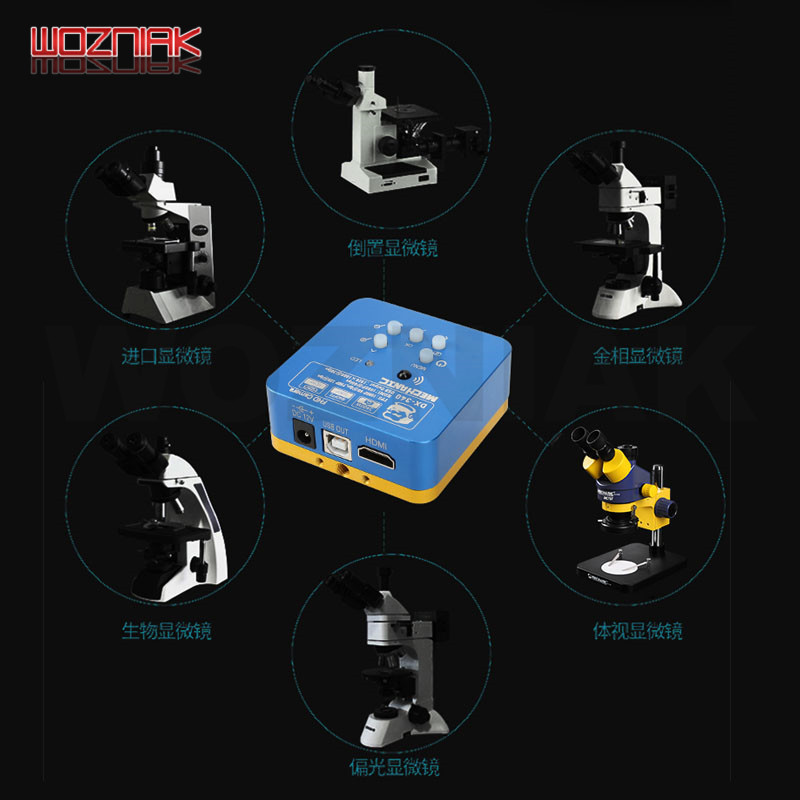 MECHANIC DX-340 Multi-function Industrial camera 3400W pixels CMOS HDMI Microscope camera USB HD camera  - buy with discount