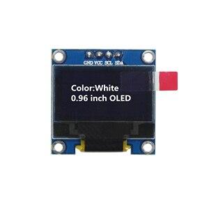 Image 3 - 0.96 inch 128X64 Blue/White/Yellow Blue OLED Display Module IIC Communicate for arduino Diy Kit