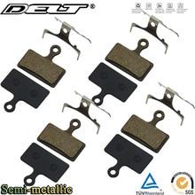 4 Pair Bicycle Disc Brake Pad FOR SHIMANO XT/R M985 M988 Deore XT M785 SLX M666 M675 M615 S700 R515 Semi - Metallic Accessories
