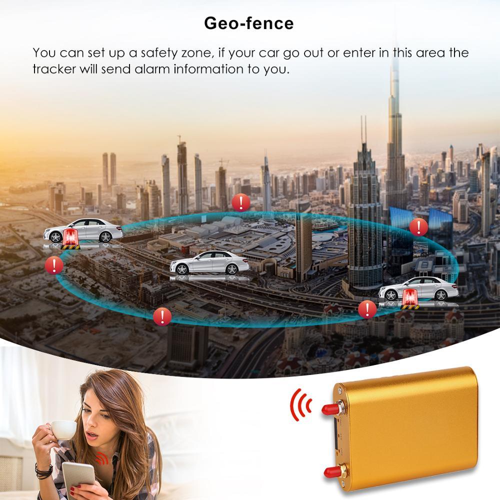 GPS Per Auto Tracker Vehicle Tracker 3G 4G GPS Tracker Per Auto Localizzatore Chilometraggio Rapporto in tempo Reale Più di velocità di Trasporto Web APP Localizzatore GPS - 4