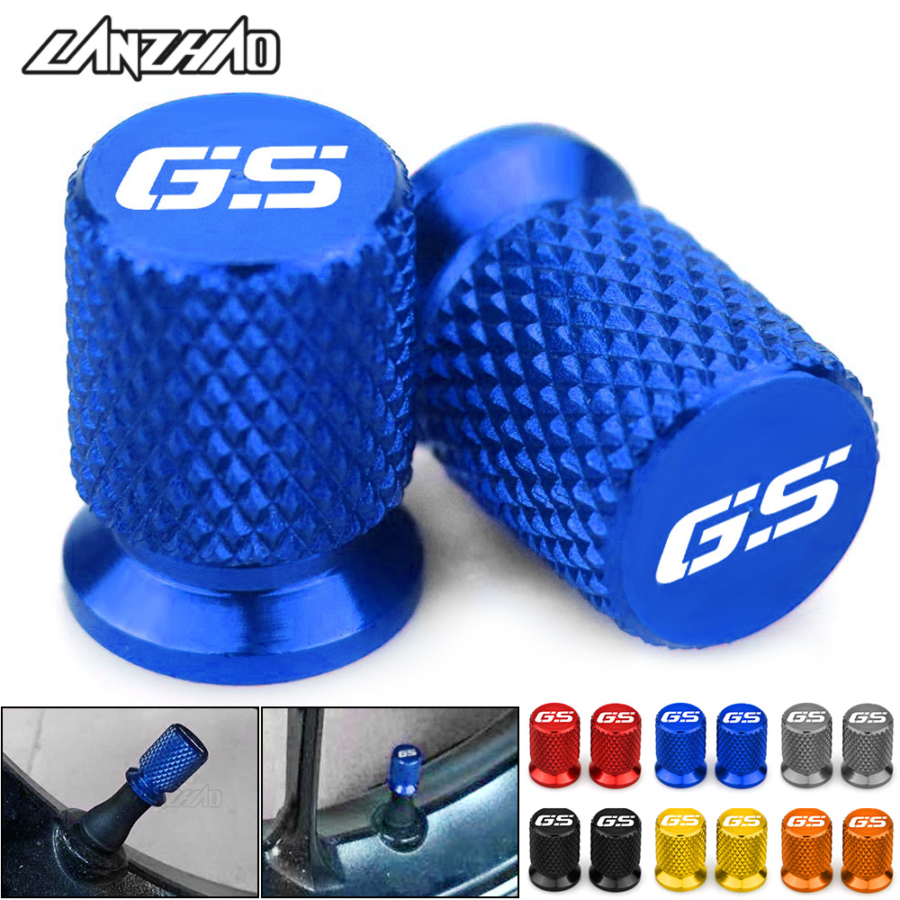 <font><b>GS</b></font> <font><b>Motorcycle</b></font> Tire Valve Air Port Stem Cover Cap Plug CNC Accessories for BMW <font><b>R1200GS</b></font> R1250GS R 1200GS R1250 <font><b>GS</b></font> R 1250 <font><b>GS</b></font> LC ADV image