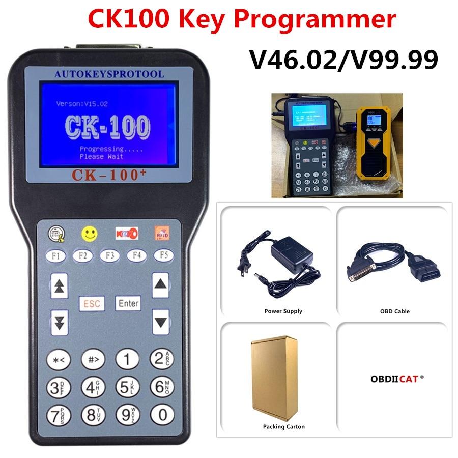 Big discount!! Auto Key programmer Tool CK100 V99.99 V46.02 Silca SBB Auto Key Programmer CK-100+ Auto Car Key Maker