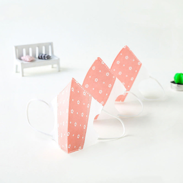 ffp3 Disposable PM2.5 children breathable protective ear hook cartoon printing anti-fog anti-virus anti-flu mask 5