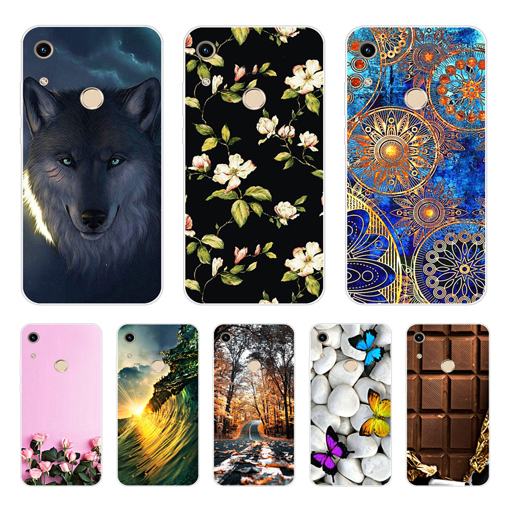 Honor 8A Case For Phone Case Huawei Honor 8A Case Silicone Back Cover For Soft Funda On Huawei Honor 8A JAT-LX1 8 A Honor8A Case