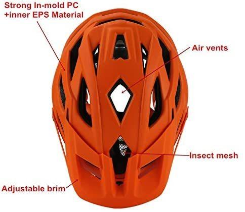 Cairbull trail xc capacete de bicicleta, capacete de segurança para ciclismo mtb super mountain bike ciclismo 55-61cm 5