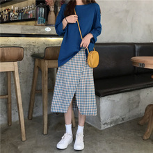 Early Autumn 2019 New Long Sleeve One-piece Foundation Solid Color Fashion Women Shirts
