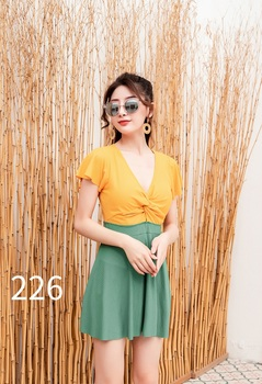 Sexy cover up dress Swimsuit beachwear female 2020 Stitching color bikini Solid color Summer dress cover ups sexy woman's dress 8