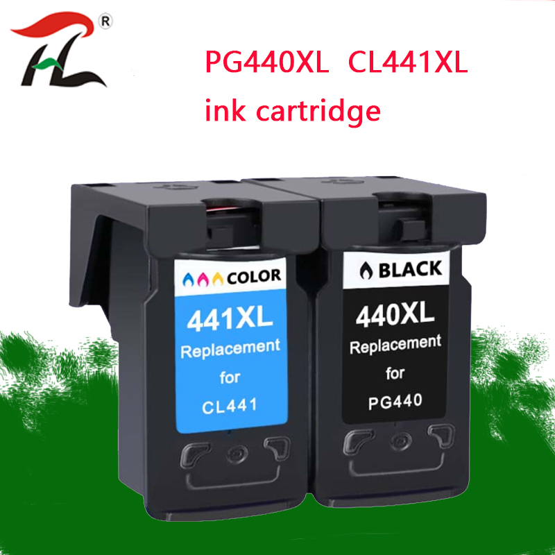 PG 440 PG440XL CL 441 compatible Ink Cartridge for <font><b>Canon</b></font> PG440 CL441 <font><b>440XL</b></font> 441XL for Printer 4280 MX438 518 378 MX438 printer image