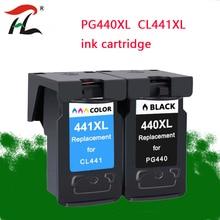 Wymiana wkładu PG440 CL441 do Canon PG 440 CL 441 440XL wkład atramentowy do drukarki Pixma MG4280 MG4240 MX438 MX518 MX378