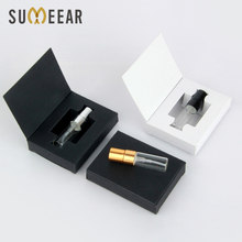 100 Pieces 3ml Packaging Boxes mini Perfume Bottle With Atomizer And Glass Perfume Bottle Customizable LOGO