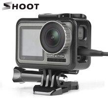 تبادل لاطلاق النار ل DJI oomo عمل كاميرا واقية قفص إطار حافظة ل DJI oomo عمل هيكل قفصي الشكل للكاميرا الحدود غطاء الإسكان شل الإكسسوار