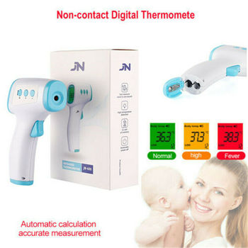 Non Contact Digital IR Infrared Forehead Thermometer Gun Adult Body Temperature Dropshipping
