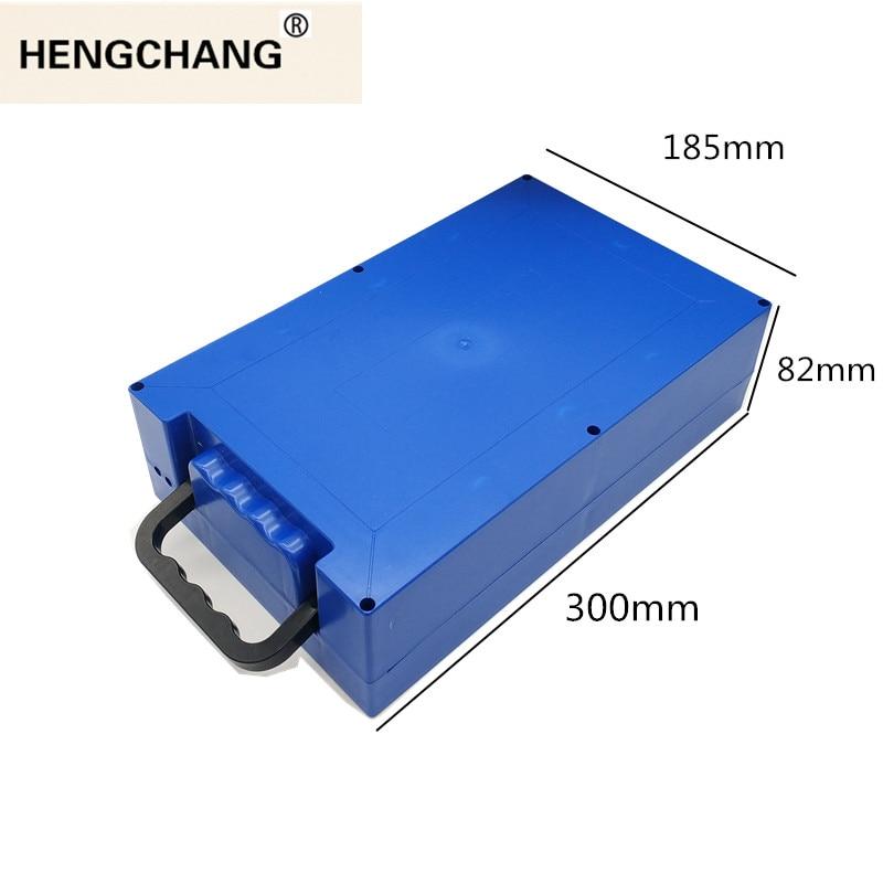 PLASTIC box case for 48V 60V 72V 18650 26650 electric bike UPS BACK-UP battery