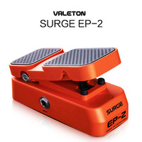 Valeton 2 in 1 Function Passive Volume Expression Guitar Effects Pedal 2 Performance Foot switch LED Light Shows EP-2 Accessory