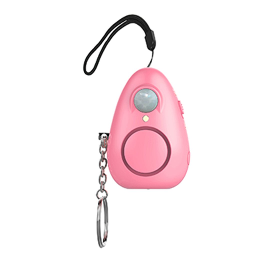 Multi-Function Portable Sensor Alarm Safety Anti-Wolf Alarm Security ABS Alert With LED Light Self Defense Supplies