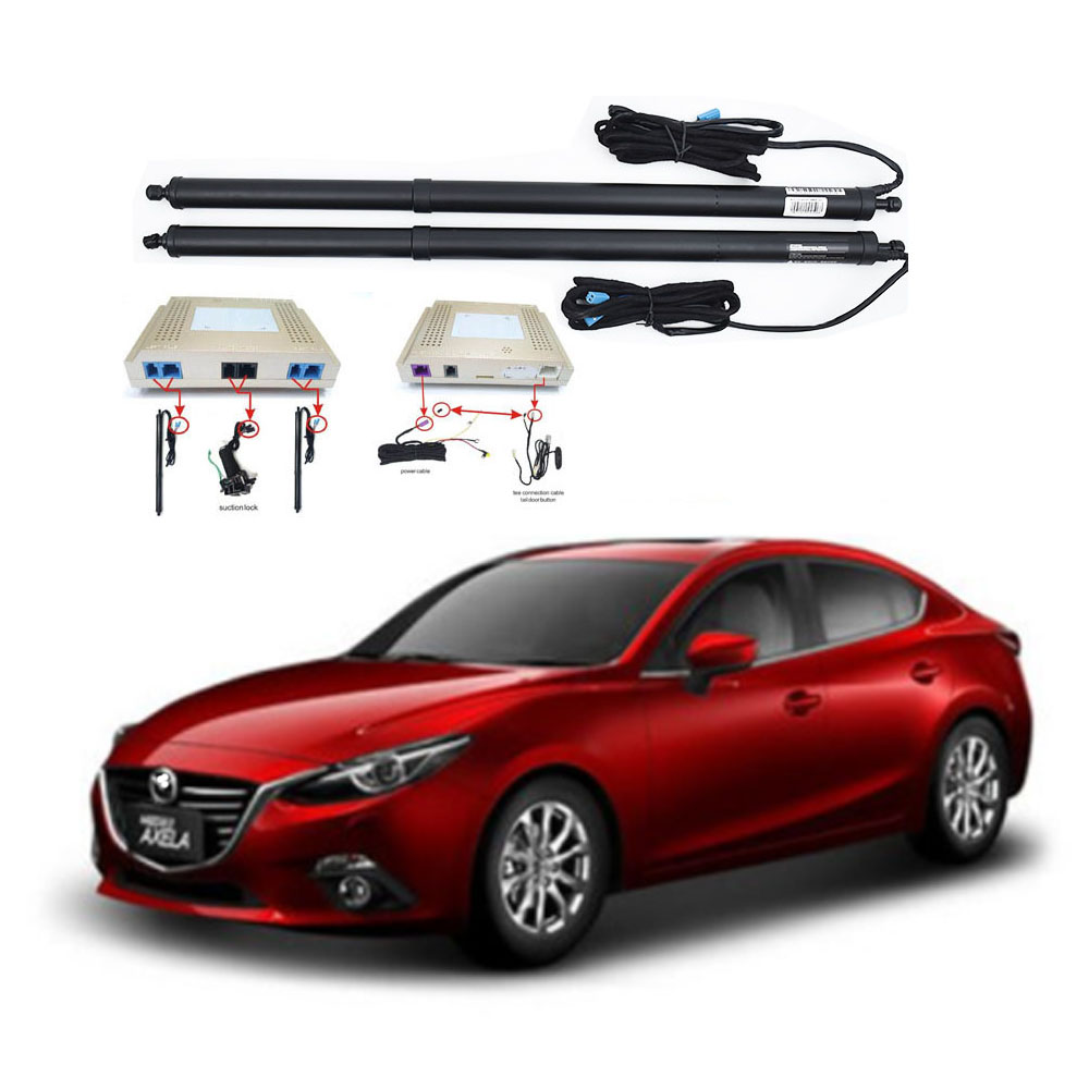New Electric Tailgate Refitted For MAZDA 3 AXELA 2016 -2020 Tail Box Intelligent Electric Tail Door Power Tailgate Lift Lock