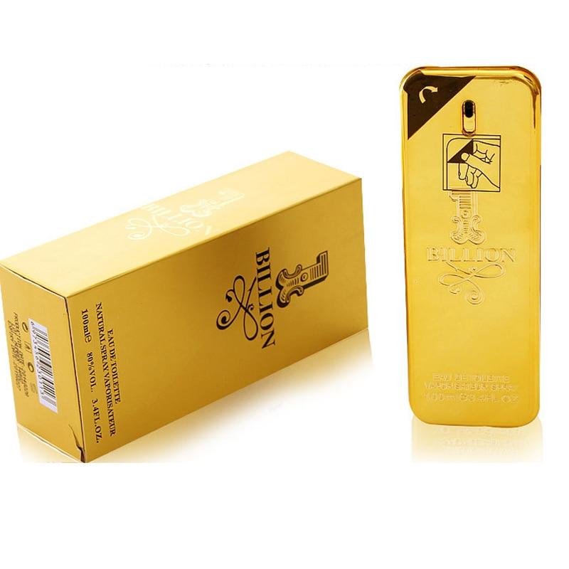 Men's Eau De Toilette Million Spray Glass Bottle Perfume Lasting Aroma Original Liquid Bottle Men's Perfume Natural Flavor 100ml