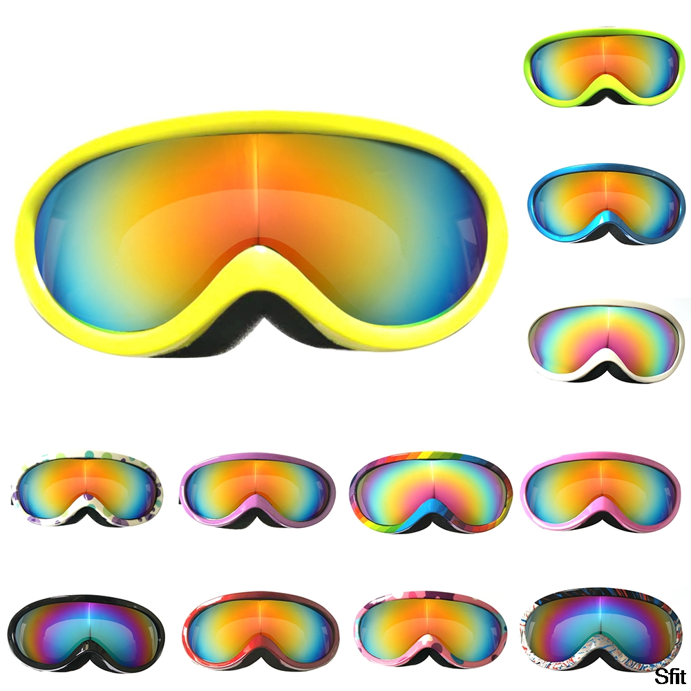 Sfit Professional Children Snowboard Goggles Kids Ski Goggles Skiing Glasses Eyewear Anti-fog Snow Glasses For Children