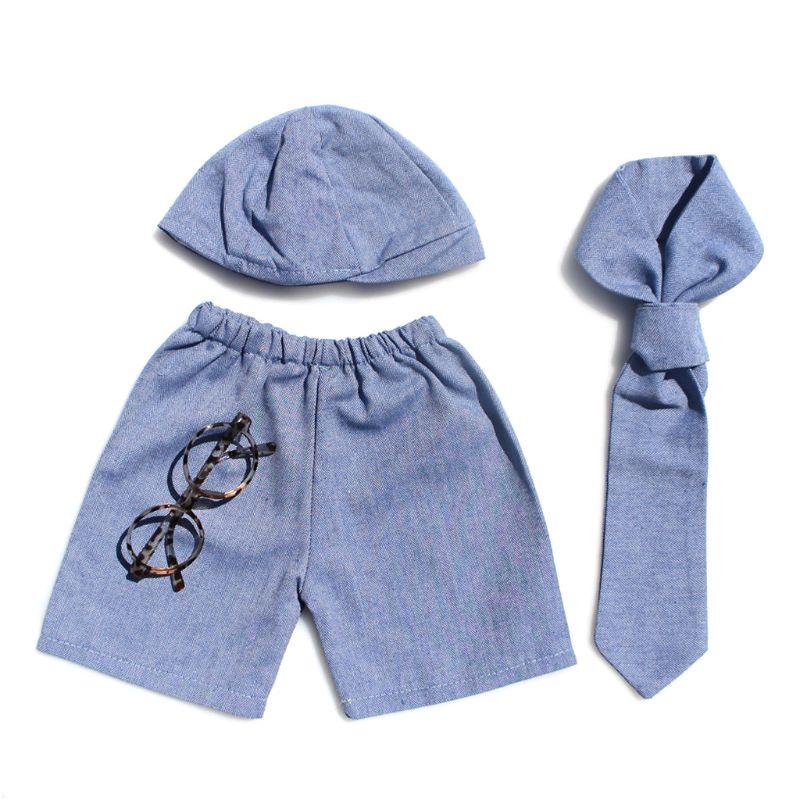 Newborn Photography Props Baby Boy Gentleman Set Costume Clothing